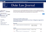 Duke Law Journal